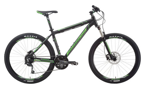 Silverback Slade 3 (2015) черный с зеленым