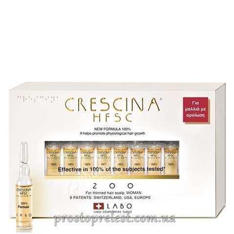 Crescina HFSC Re-Growth 200 Woman - Средство для восстановления роста волос 200, формула для женщин