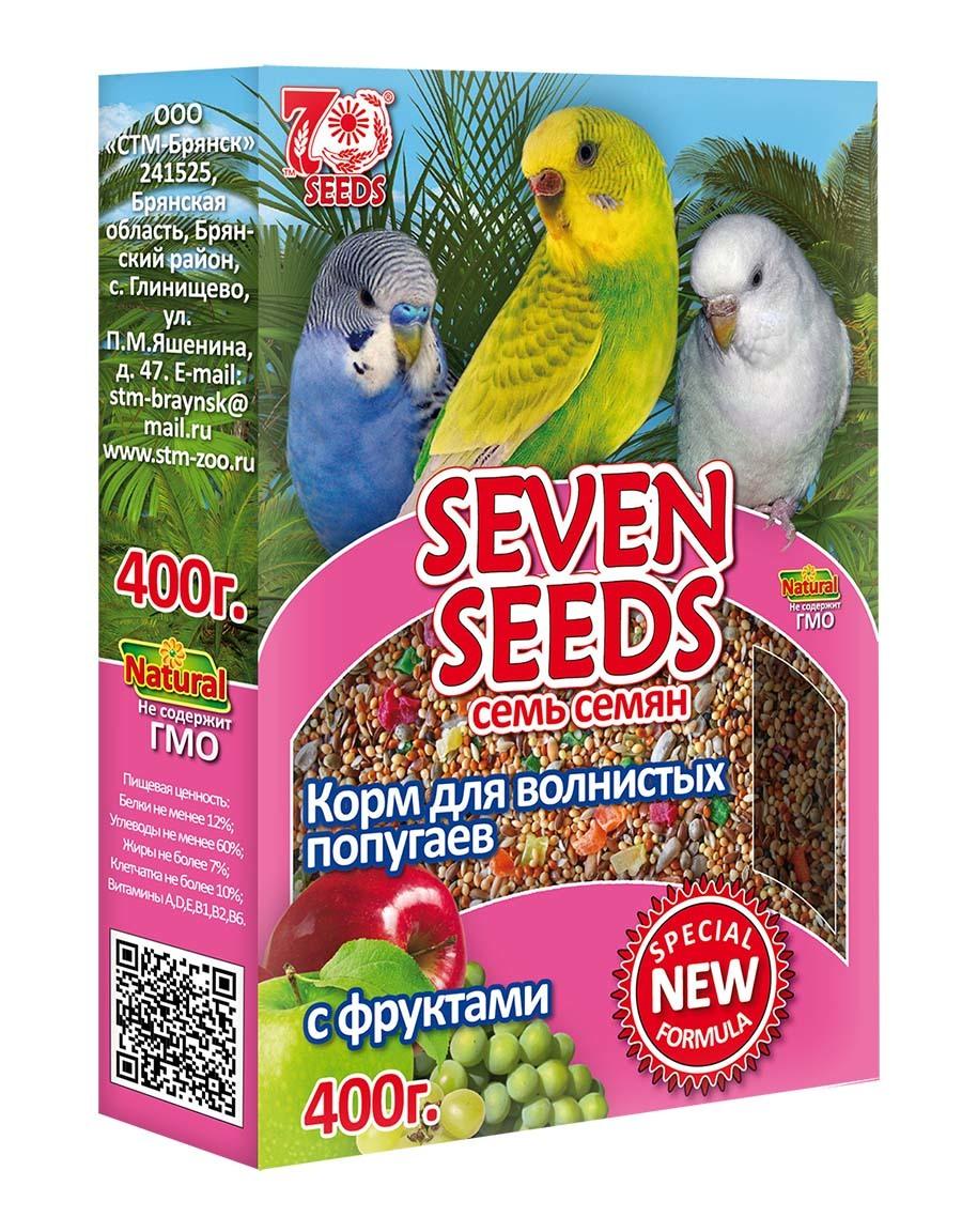 Корм Корм для волнистых попугаев с фруктами Seven Seeds Special 44.jpg