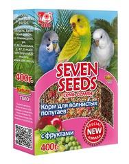 Корм для волнистых попугаев с фруктами Seven Seeds Special