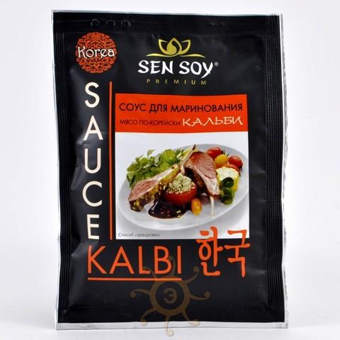 Соус для маринования мяса по-корейски Кальби Sen Soy, 85г