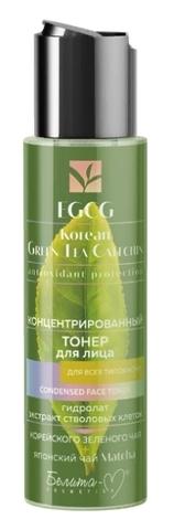 Белита М EGCG Korean GREEN TEA Тонер для лица для всех типов кожи концентрированный115мл