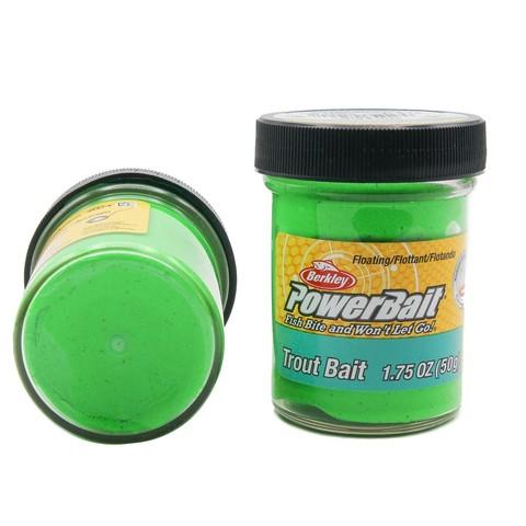 Форелевая паста Berkley - BTBSG2 (1004776) биоразлагаемая зелёная