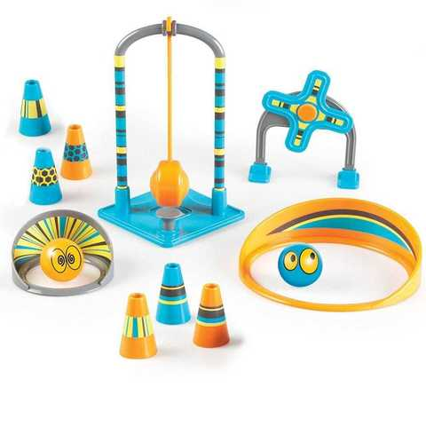 LER9288 Развивающая игрушка Попади в цель. Делюкс (серия Crashapult STEM, 17 элементов) Learning Resources