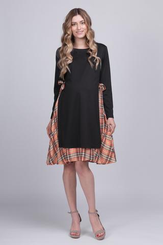 Платье для беременных 12587 черный