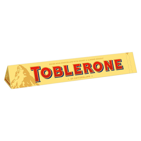 Шоколад молочный Toblerone Milk с медово-миндальной нугой 100 гр