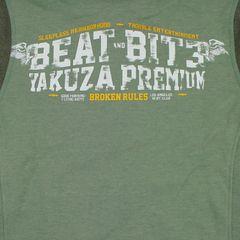 Худи оливковая Yakuza Premium 3121-1