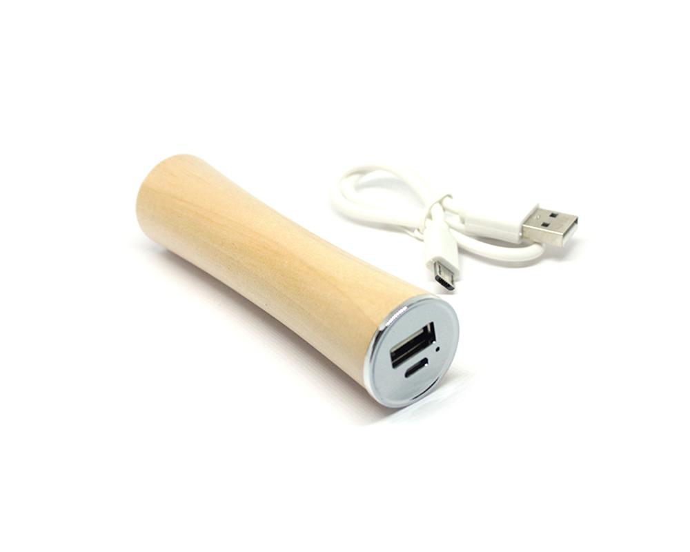 power bank дерево 2200 mah внешний аккумулятор  wood