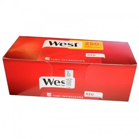 Сигаретные гильзы West Red - 250 шт.