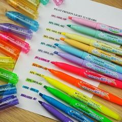 Текстовыделители пастельные Pilot FriXion Light - Soft Colors (3 цвета)