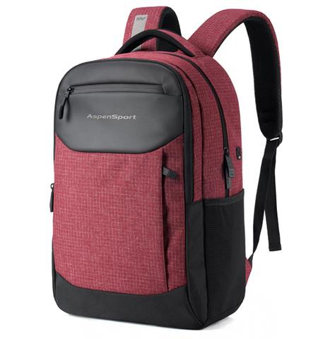 Рюкзак ASPEN SPORT AS-B82 Бордовый