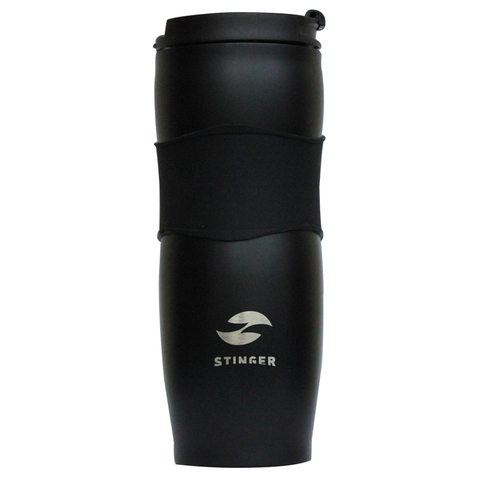 Термокружка чёрная (0,4 л) STINGER HY-VF680-B