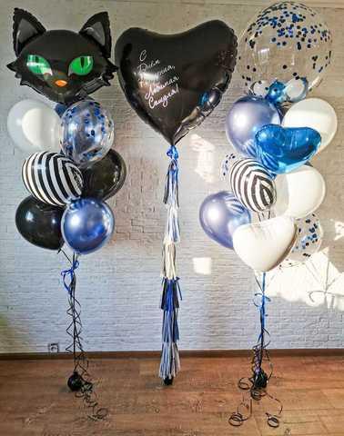 Воздушные шарики для девушки
