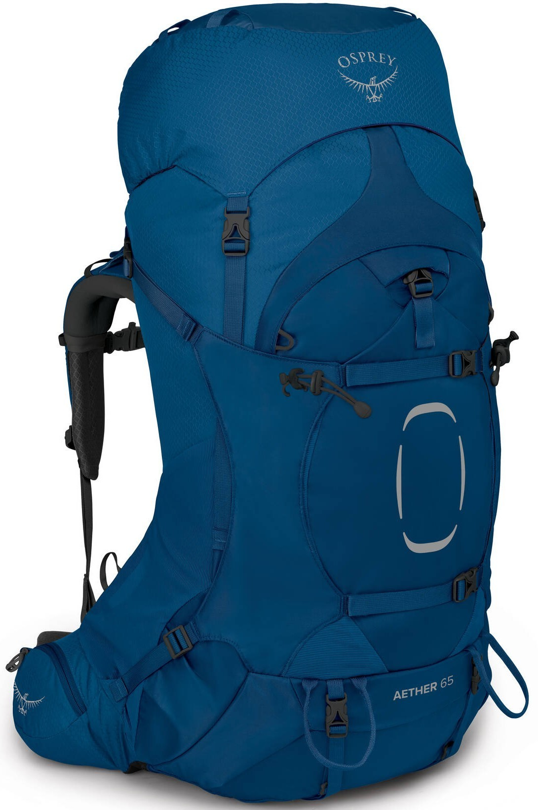 Aether AG Рюкзак Osprey Aether 65, Deep Water Blue Aether_65_S21_Side_Deep_Water_Blue_web.jpg