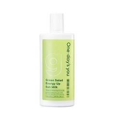 Солнцезащитное молочко One-day's You Green Salad Energy Up Sun Milk SPF50+ PA++++ 50ml