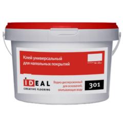 Клей Ideal 301 для бытовых ПВХ-покрытий 14 кг