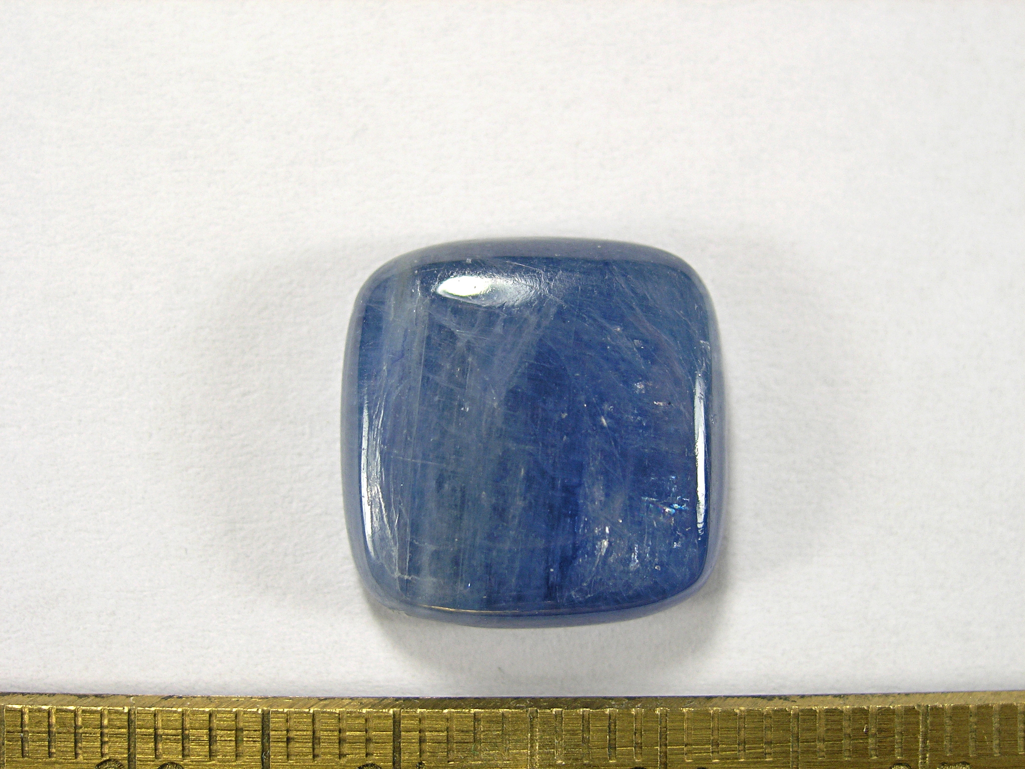 Кианит 15x15x4 мм