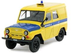 UAZ-469 PPS Patrol Police USSR 1:43 DeAgostini Service Vehicle #48