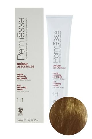 Крем-краска для волос 9.0 Суперсветлый блондин Permesse, Barex