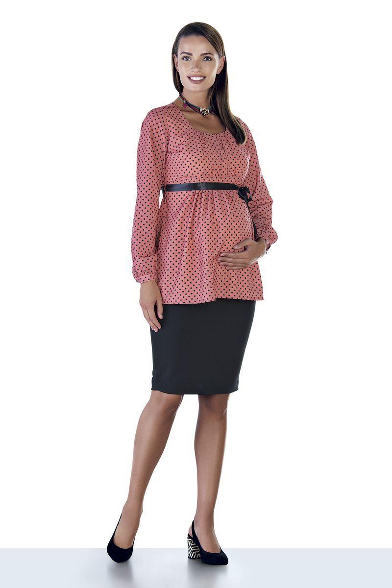 Блузка для беременных 08944 персиковый