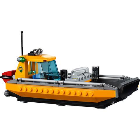 LEGO City: Вертолёт для доставки грузов в джунгли 60162 — Jungle Air Drop Helicopter — Лего Сити Город