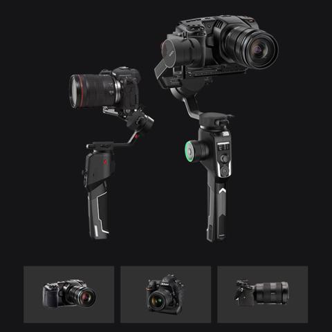 Электрический стабилизатор для зеркального фотоаппарата Moza AirCross 2 черный