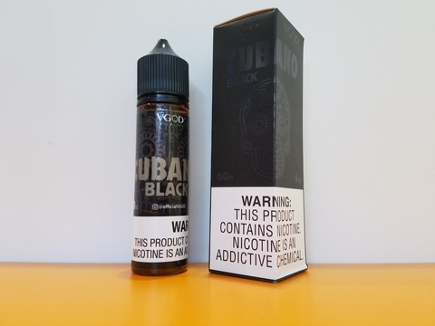 CUBANO BLACK by VGOD 60ml