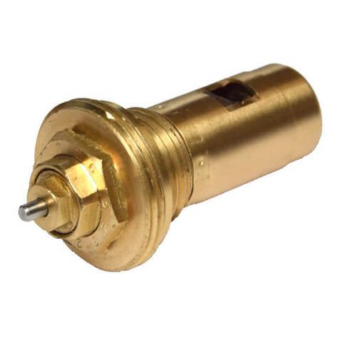 Термостатическая вкладка тип D для радиаторов со встроенным термостатвентилем. Диапазон настройки Kv от 0,03 до 0,38. Kvs 1.05