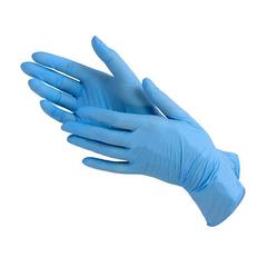 Gloves, Перчатки нитриловые, синие, р-р S, 50 пар/уп.