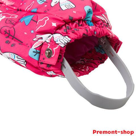 Штрипки на комбинезоне Premont для девочек Маленький Нуттала S18103