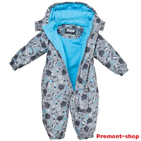 Утепленный комбинезон Premont Малыш Барибал S18301