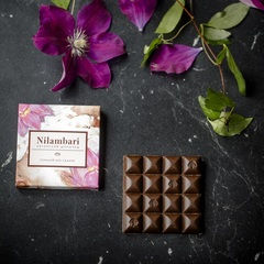 Шоколад Nilambari горький без сахара, 65 г