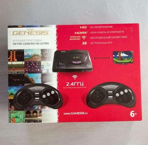 Игровая приставка RETRO GENESIS HD ULTRA2 + 50 ИГР