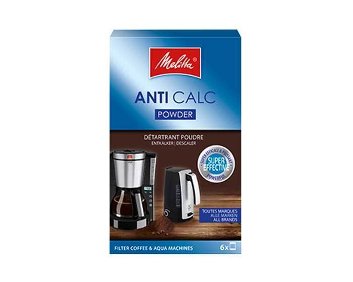 Очиститель от накипи Anti Calc для капельных кофеварок Melitta, 6 шт. х 20 г