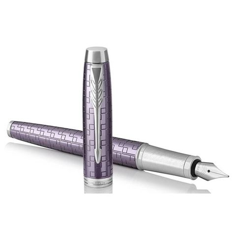 Перьевая ручка Parker IM Premium F324 Dark Violet CT перо F (1931636)