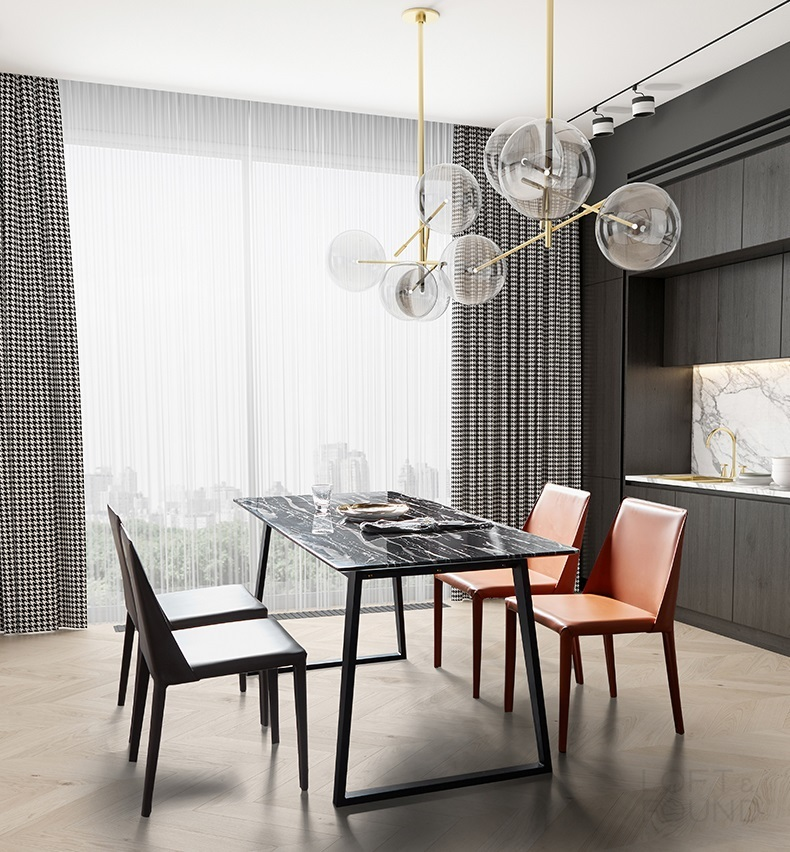 Кожаный стул Isabel Flexform style