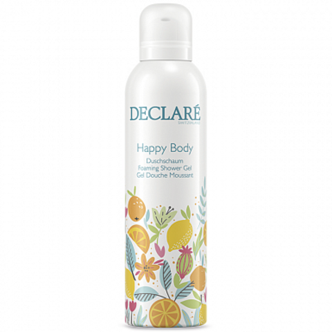 DECLARE Гель-пена для душа «Счастье для тела» | Happy Body Foaming Shower Gel