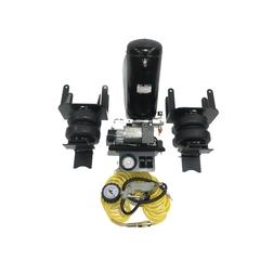 Nissan Navara D40 пневмоподвеска задней оси + система управления 2 контура (ресивер)