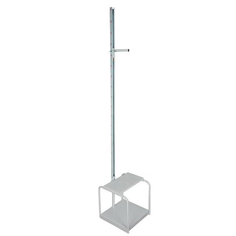 Ростомер металлический медицинский со стульчиком РМ-2 - фото