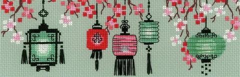 1707 Китайские фонарики