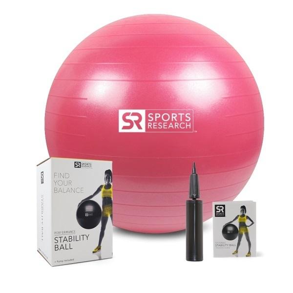 Фитнес-мяч, розовый