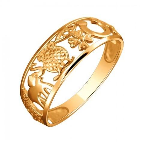 01К0111617 - Золотое кольцо-талисман