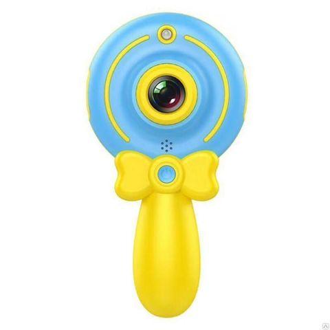 Детский фотоаппарат Волшебная палочка X3 голубой