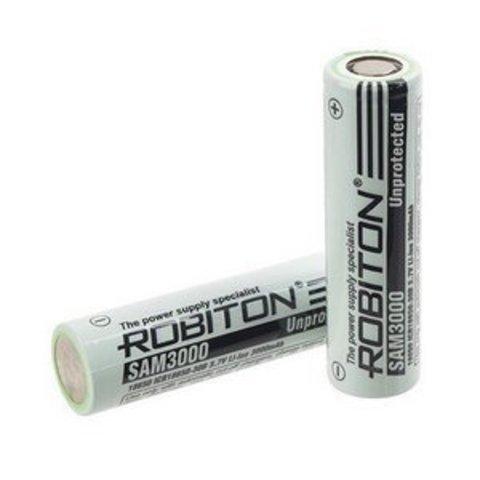 Аккумулятор ROBITON SAM3000 (без защиты) Li-Ion 3000 мА·ч