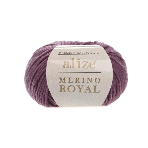 Alize Merino Royal вялая роза 73