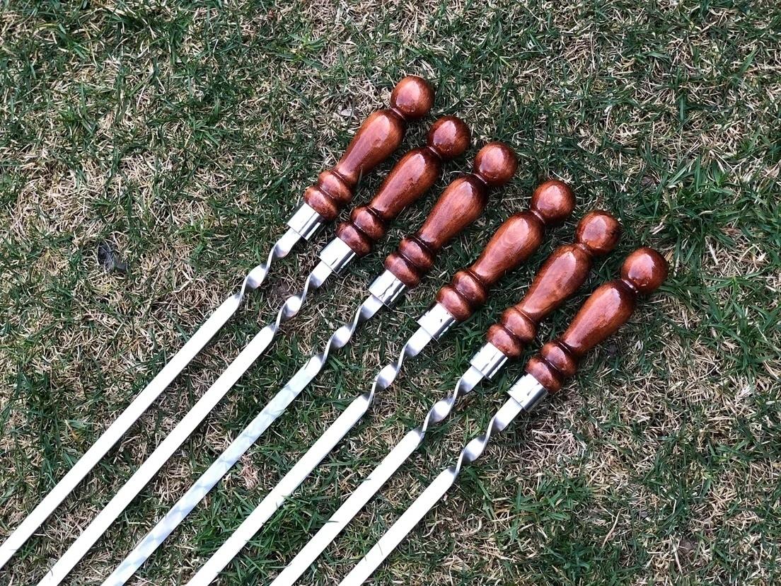 Шампуры с деревянной ручкой Шампур для мяса с деревянной ручкой 55 см c_zkQ7Ly7IE.jpg