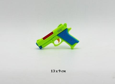 Пистолет на батарейках, со светом и музыкой (в пакете), 5506