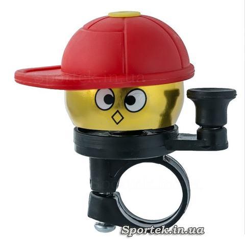 Звонок в кепке на детский велосипед, самокат, беговел