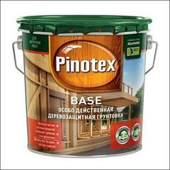 Грунт антисептический для дерева Pinotex BASE (Прозрачный)
