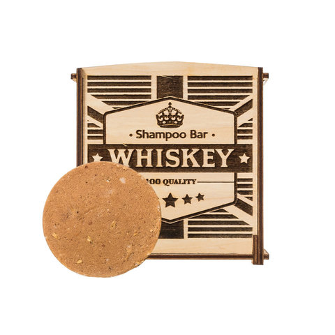 Твердый шампунь SHAMPOO BAR 6in1 WHISKEY (gift pack)